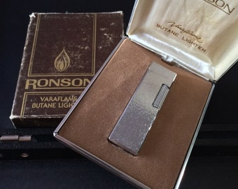 Vintage NOS Ronson lighter // collection by stv