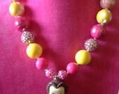 Princess bubblegum necklace