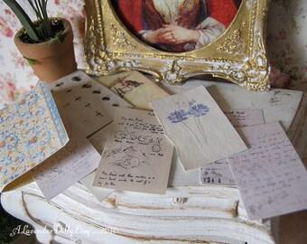 Beatrix Potter Art Folder for Dollhouse