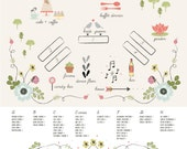 16 by 20-Wedding Seating Chart