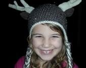 Deer Antler hat