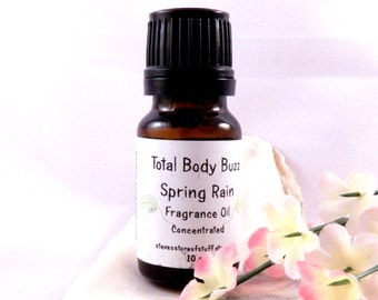 Fragrance Oil - Spring Rain Fragrant Oil - Bath Body Supply - Soapmaking Supplies - Candle Potpourri Incense Supply - Craft Supplies