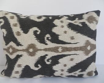 14x20 Lumbar, Beige Lumbar, Black Lumbar, Accent Lumbar, Beige Pillow, Pillow Cover, Black Pillow, Brown Pillow,Home Decor