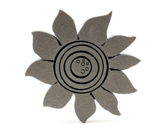 Sunflower Foam Stamp