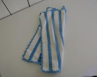 Dish towel crochet pattern guest towel PDF