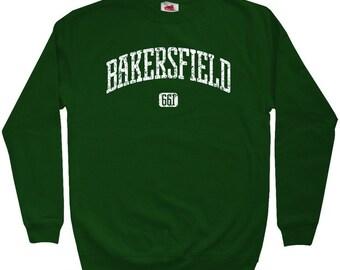 Bakersfield 661 Sweatshirt - Men S M L XL 2x 3x - Crewneck Bakersfield California Shirt - 3 Colors