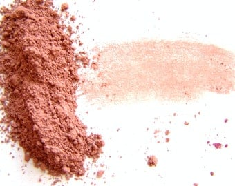 Mineral Powder Blush - Terracotta Blush Powder - Soft Matte Finish Blush - Vegan Makeup