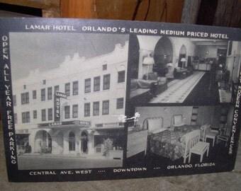Orlando Fl Lamar Hotel Photo Postcard