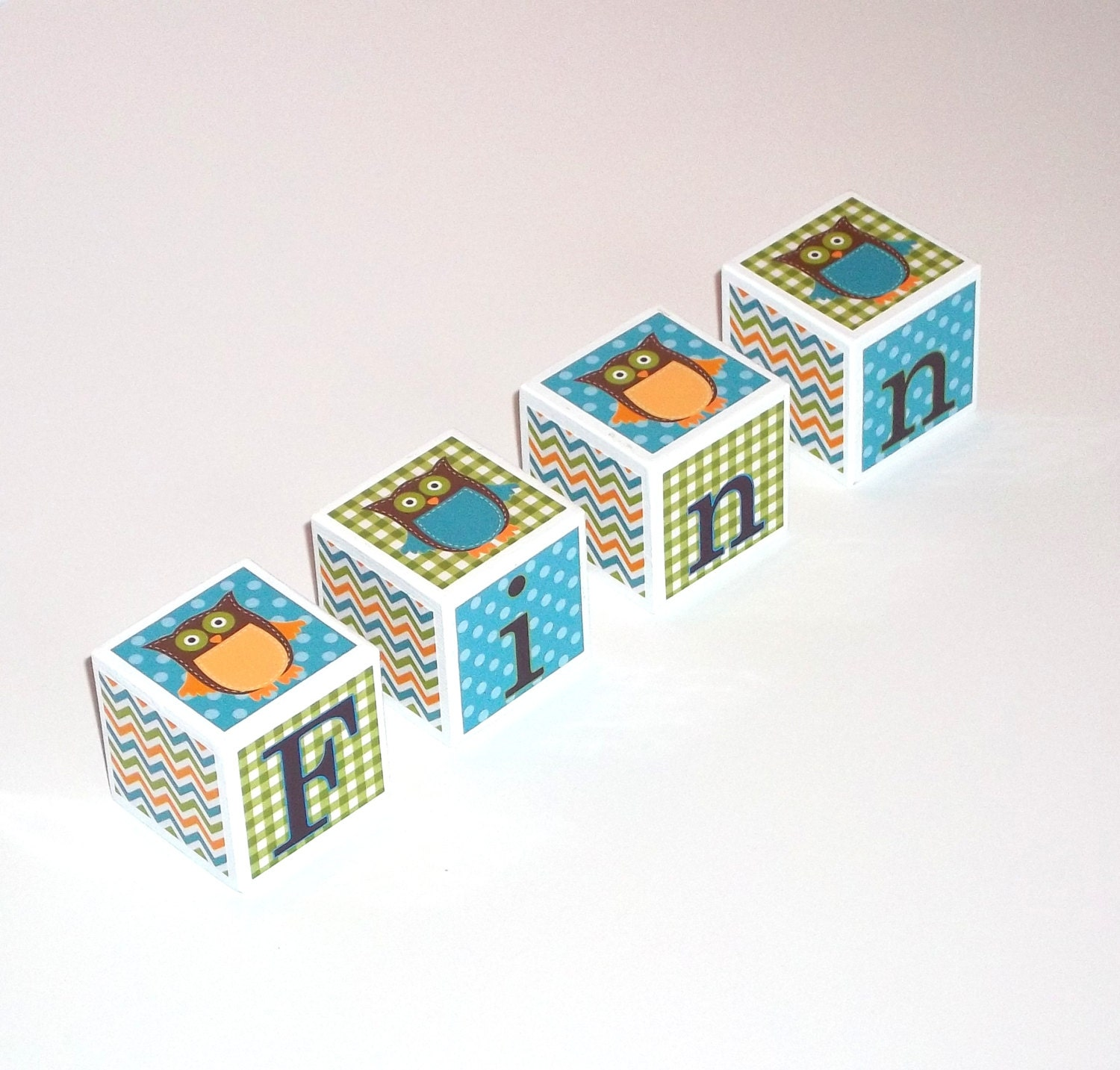 Baby Gift Name Blocks : Baby name blocks wooden personalized gift