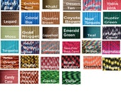 50 feet Paracord Parachute cord 550 Type III 550lb Test 100% Nylon 7 Inner Strands WHOLESALE PRICES