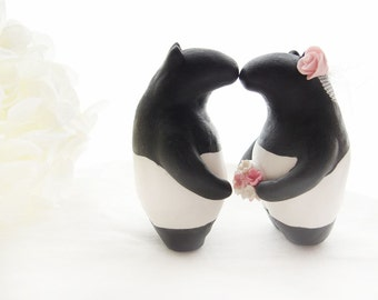 Custom Wedding Cake Toppers - Malayan Tapir