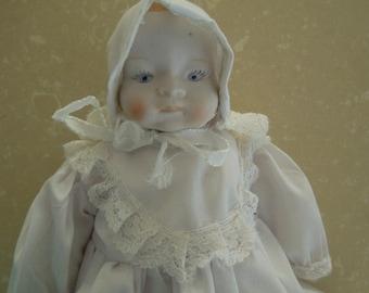 Vintage Bisque Doll