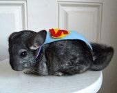 Chinchilla costume cape Superman
