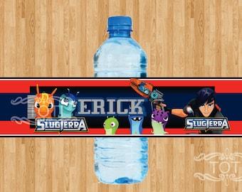Slugterra | Personalized Bottle Labels [DIGITAL FILE ONLY]