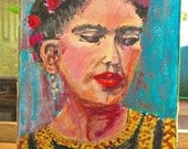 A likeness of Frida  Kahlo