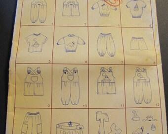 Sew Little patterns, Just Boys, size 1 thru 4
