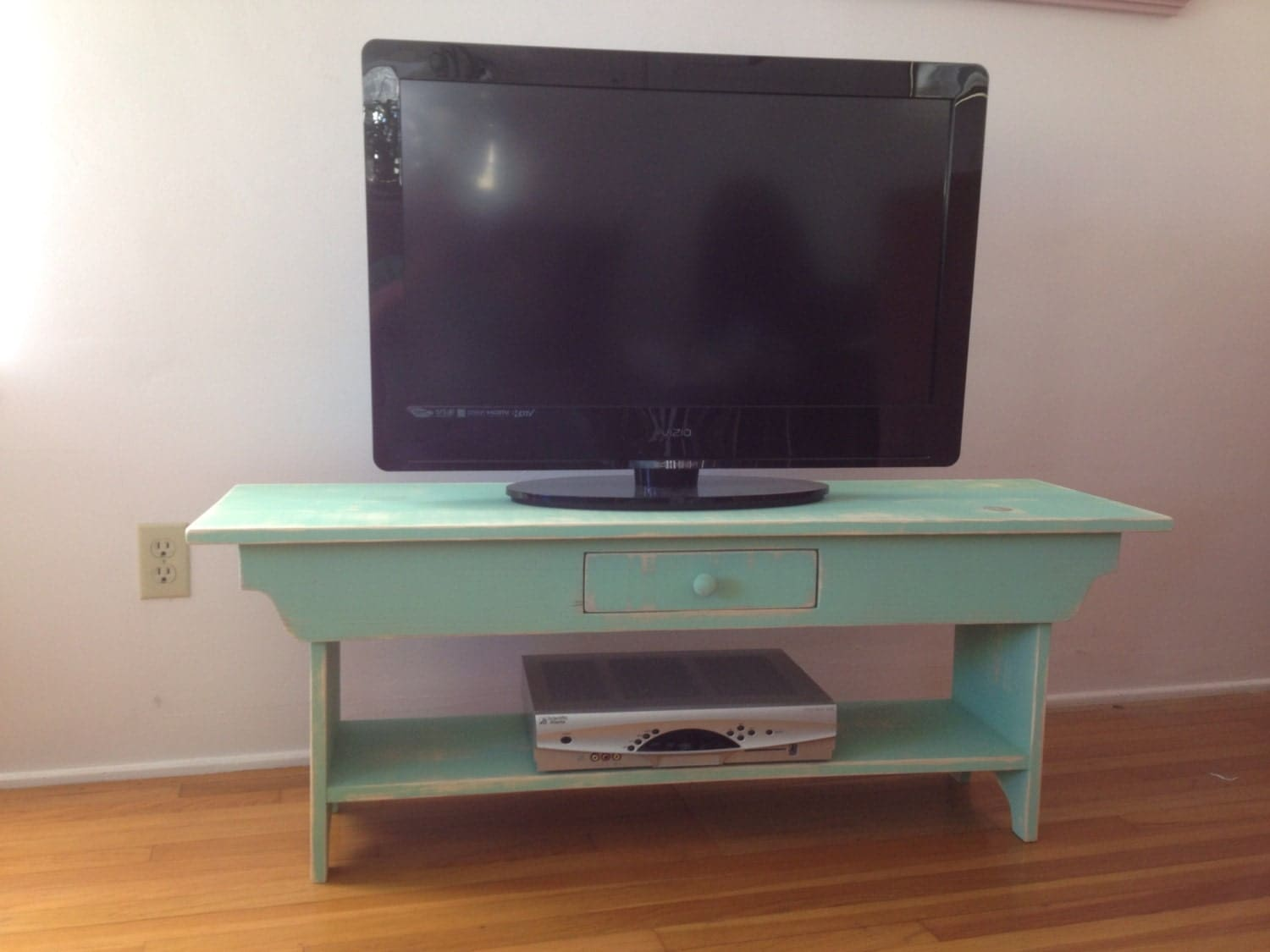 Bench With Drawer Tv Stand Coffee Table By Squarenailfurniture