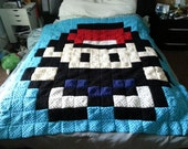 Pokemon Trainer Granny Square Blanket (with free gift)