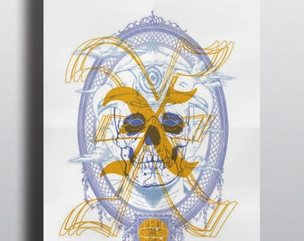 X (the band) with Reverend Horton Heat and Not In the Face, Concert Poster 11/30 at Irving Plaza New York