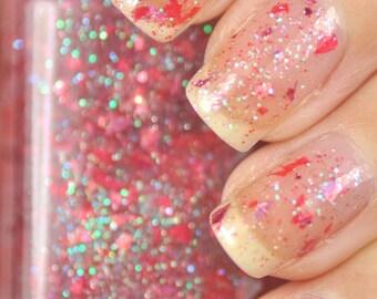 Carpe Dayum Pink Shred Glitter Nail Polish 15ml (.5oz)