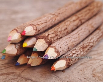 5 inch Wood Coloured  Pencils