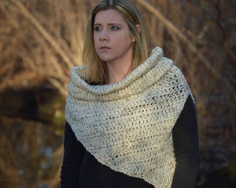 Katniss Inspired Cowl from The Hunger Games: Catching Fire M/L Cosplay