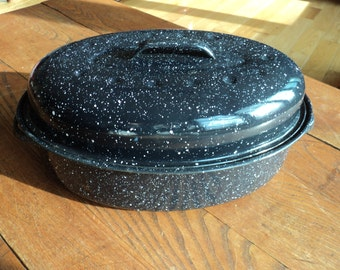 Popular Items For Vintage Roasting Pan On Etsy