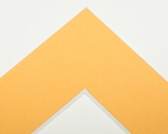 4x6  Mat for 5x7 Frame - Curry Yellow
