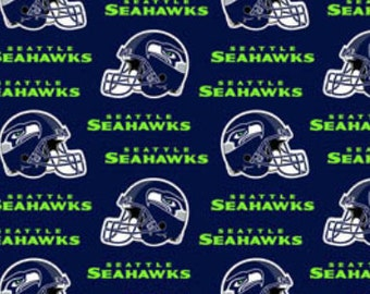 "60"" COTTON - Seattle Seahawks - All Over"