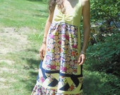 Hippy Dippy Flowers Handmade Hippie Patchwork Festival Dress