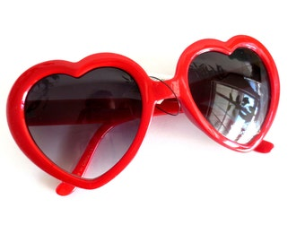 Heart Shaped Sunglasses in 4 Colors - 100% UV Protection