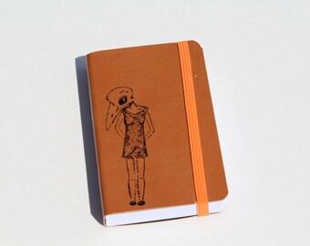 Crazy Bird Lady Pocket Journal Sketch Book Pad