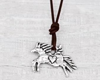 Unbridled Spirit Necklace -Inspirational Jewelry - Equestrian Jewelry - N426