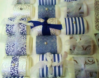 One Dozen Handmade Bar Soap Party Favor Soap Bridal or Baby Shower Soap