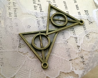 Large Triangle, Deathly Hallows Symbol Harry Potter Geometric Triangles (AV067)