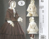 McCall's M5132 Civil War Era Dress Pattern Uncut