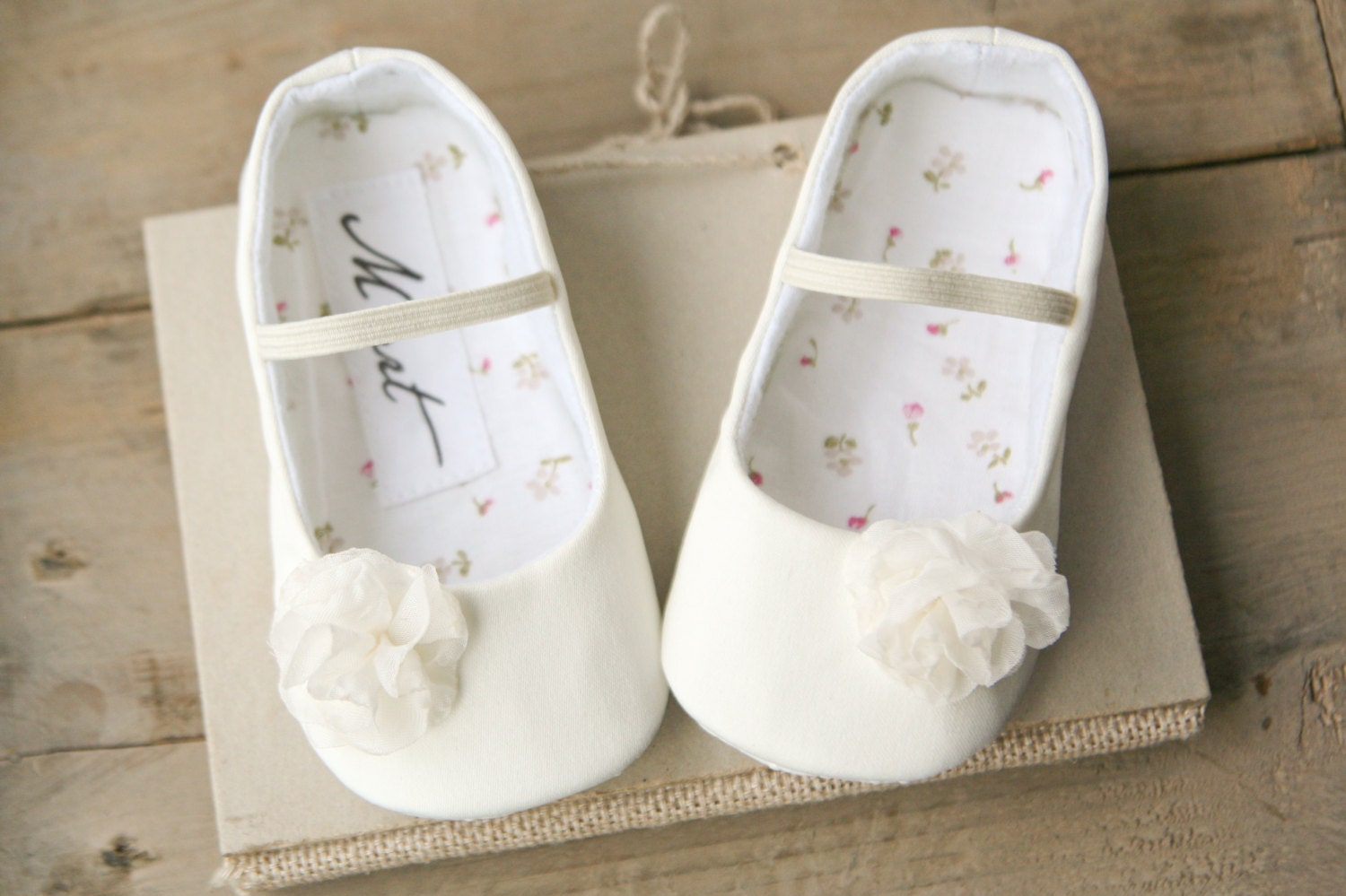 Baby baptism shoes baby girl IVORY or WHITE christening