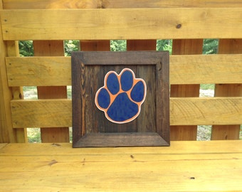Wooden detachable inserts for cypress wooden display frame