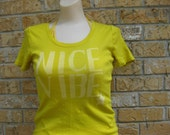 Ichigo's NICE VIBE t shirt inspired by the Bleach Anime/ Manga