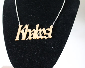 Dothraki// Khalessi// ASOIAF// Game of thrones// Laser cut pendant