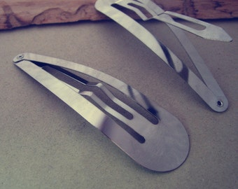 10pcs White K  hairpin 23mmx88mm
