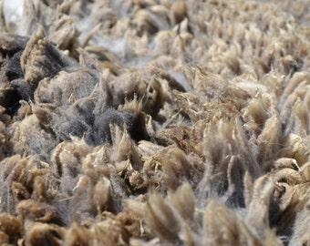 Wool, yarn or roving sample