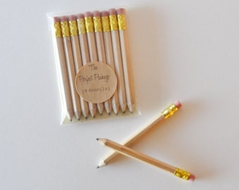 Mini Pencils Stationary Natural Pencils Game Pencils