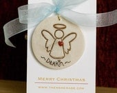 Personalized Angel Tree Ornament