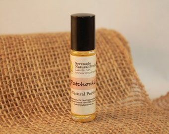 Patchouli Roll-On/100% Natural/Essential Oil Perfume