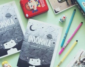 Insomnia Zine - illustrations, photography, poems