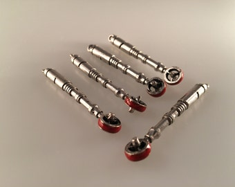 Doctor Who,  4th Doctor Sonic Screwdriver, 5 Pendants