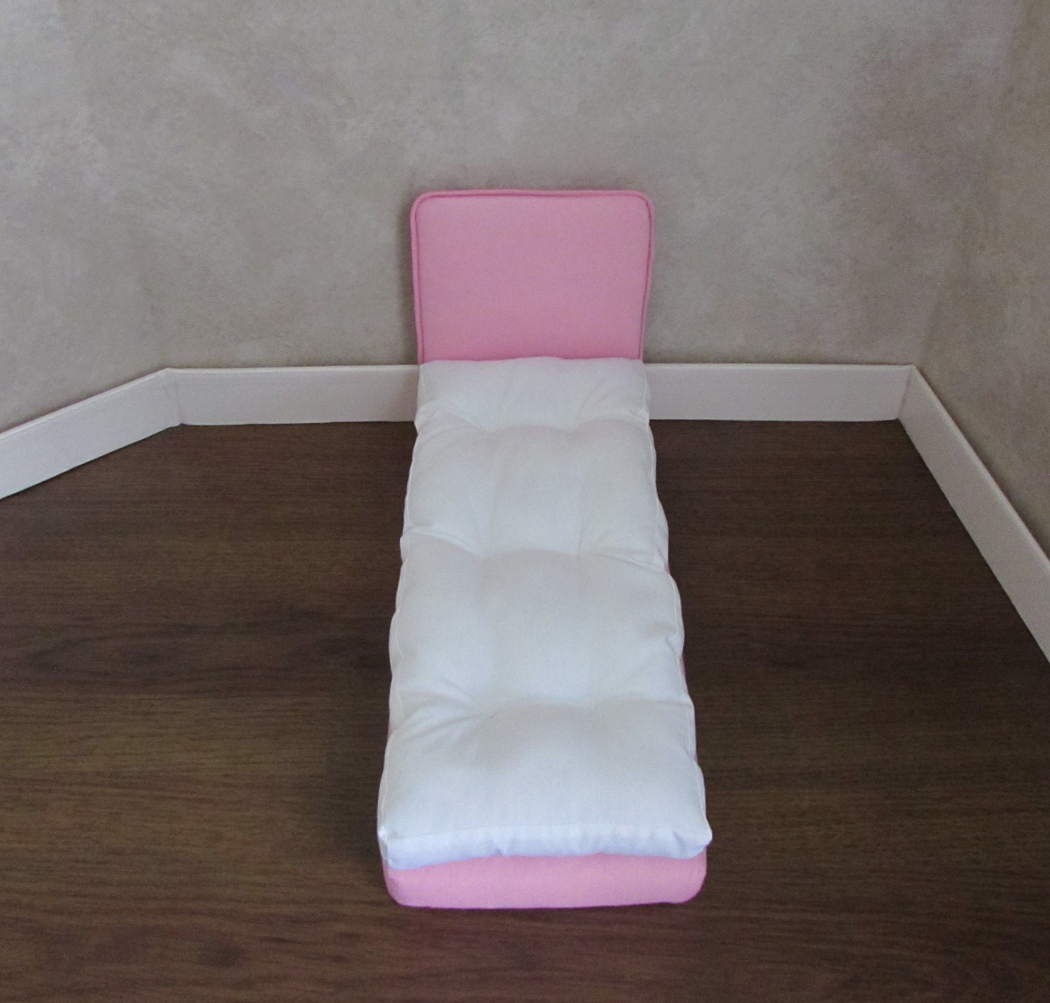 four doll beds for 11 1 2 inch dolls white by handmadebyhill