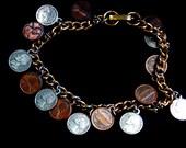 Miniature Coin Bracelet