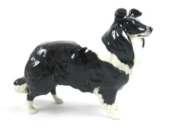 Rare Large Beswick Collie Figurine